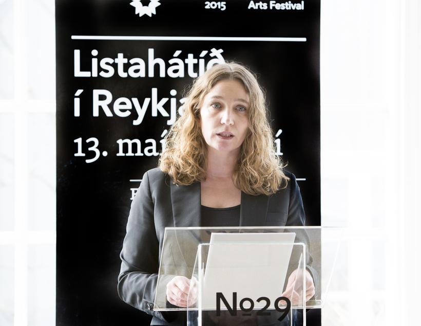 Hanna Styrmisdóttir listrænn stjórnandi Listahátíðar í Reykjavík