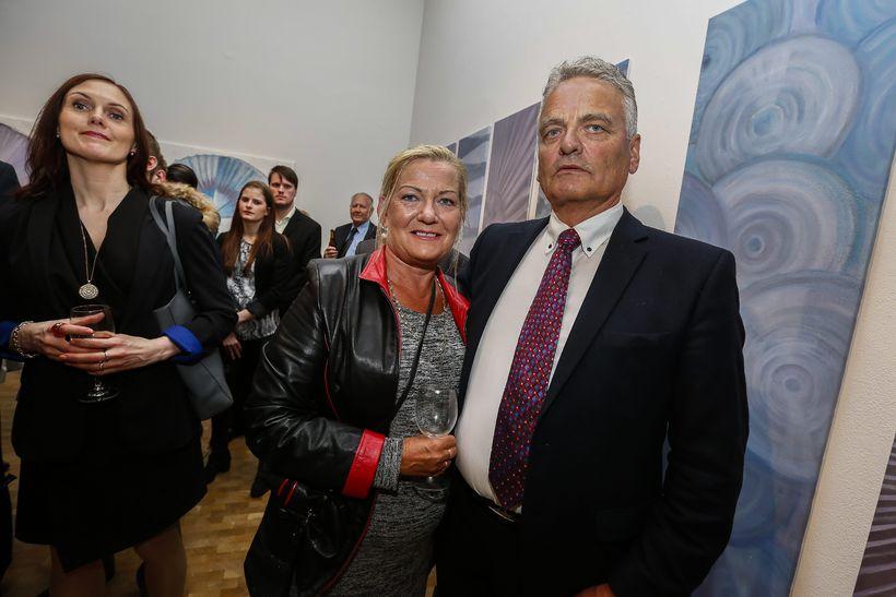 Margrét Hauksdóttir og Guðni Ágússon.