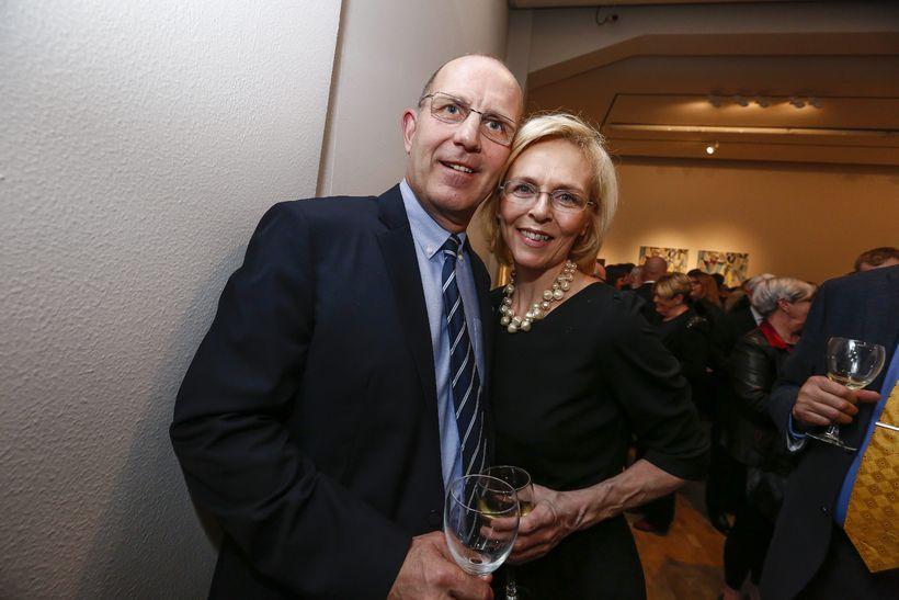Guðmundur Magnússon og Jóhanna Vigdís Hjaltadóttir.
