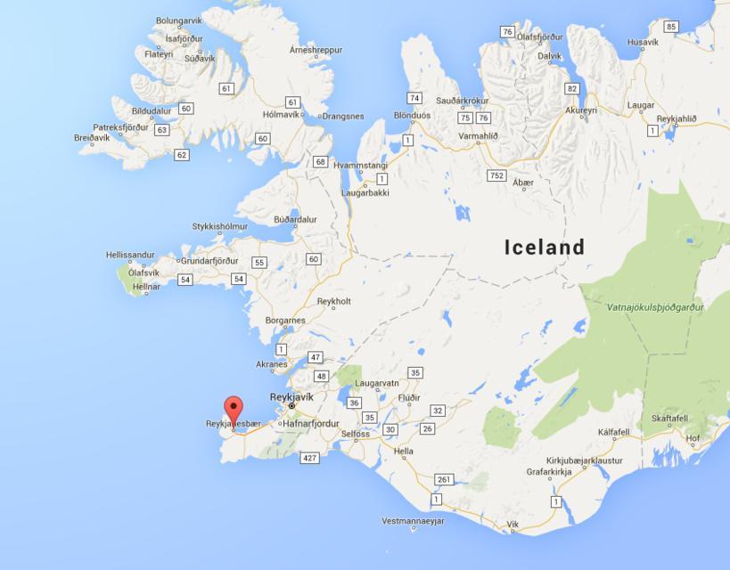 Reykjanesbær, South-West Iceland.