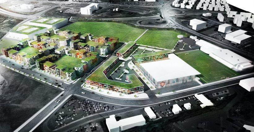 The area by Öskjuhlíð will undergo a lot of development …