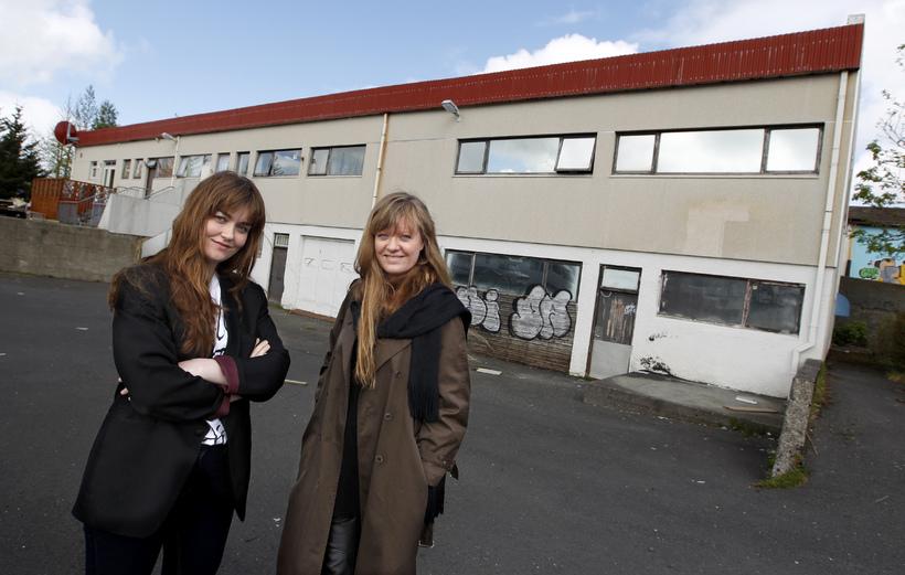 Þorgerður Ólafsdóttir, Director, and Eva Ísleifsdóttir, Collection Manager.