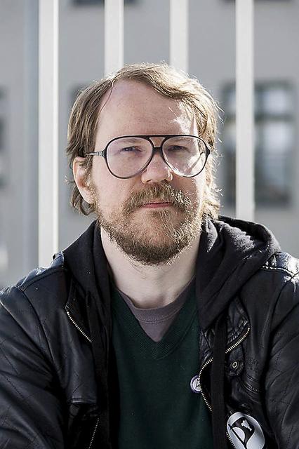 Halldór Auðar Svansson, oddviti og borgarfulltrúi Pírata.