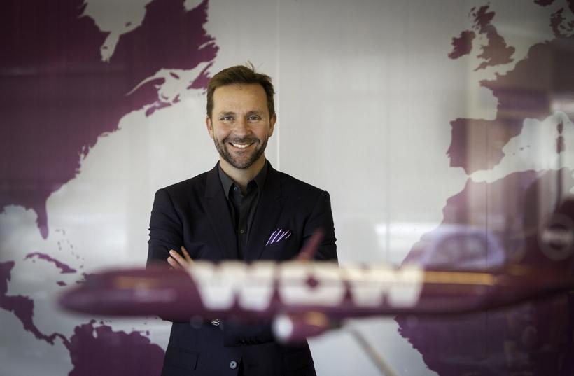 Director of WOW air, Skúli Mogensen.