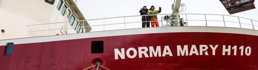 Norma Mary er í eigu dóturfélags Samherja.