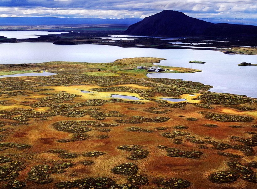 Mývatn in North Iceland is an extremely popular tourist destination.