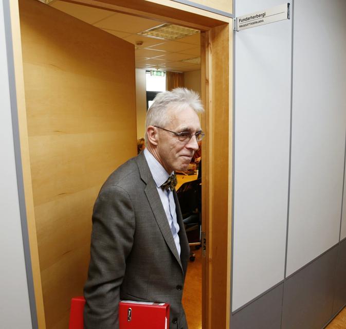 Gunnar Björnsson, formaður samninganefndar ríkisins.