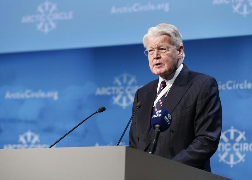 Ólafur Ragnar Grímsson, President of Iceland speaking at the Arctic …