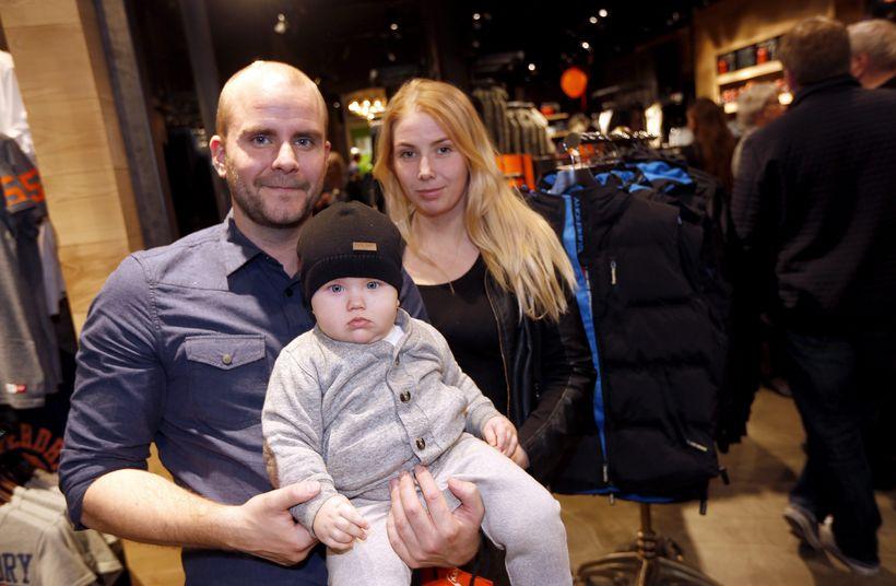 Egill Einarsson, Einar Ingi Egilsson og Kolbrún Tómasdóttir.