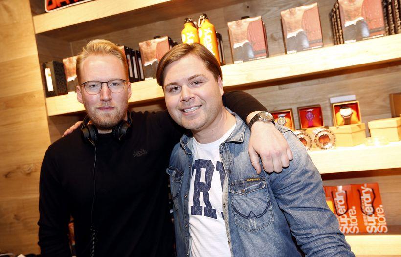 Daníel Ólafsson og Jón Helgi Sigurðsson.