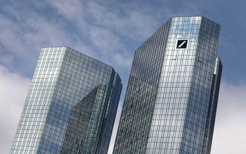 Talsmaður Deutsche Bank segir það rangt að kjörum á framkvæmdaláni …