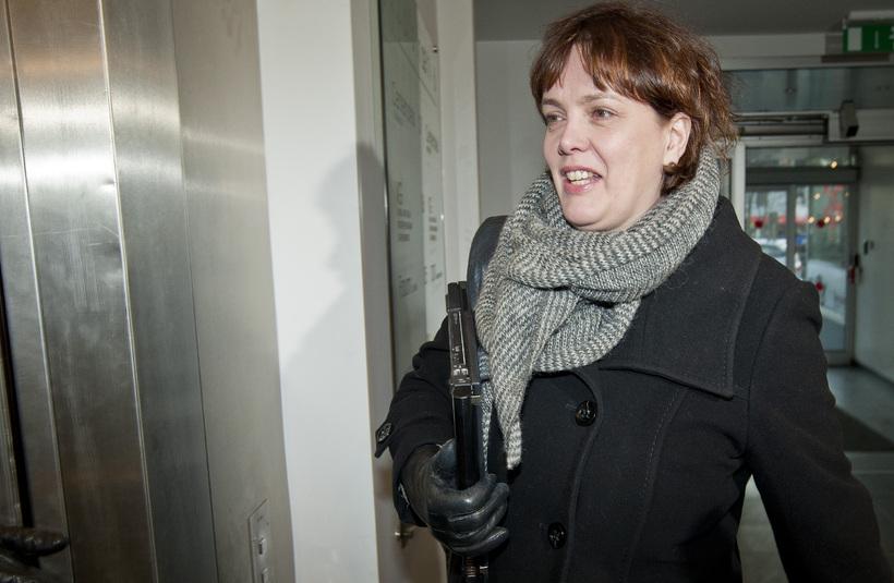 Svandís Svavarsdóttir, þingflokksformaður VG.