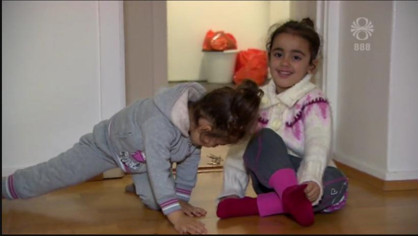 Jouli and Jana are three and four years old. They …