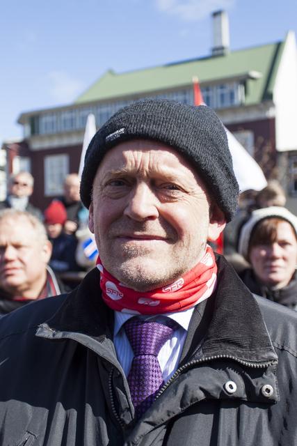 Árni Stefán Jónsson, formaður SFR.