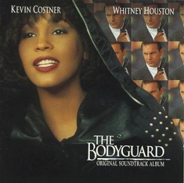 The Bodyguard sló í gegn 1992.