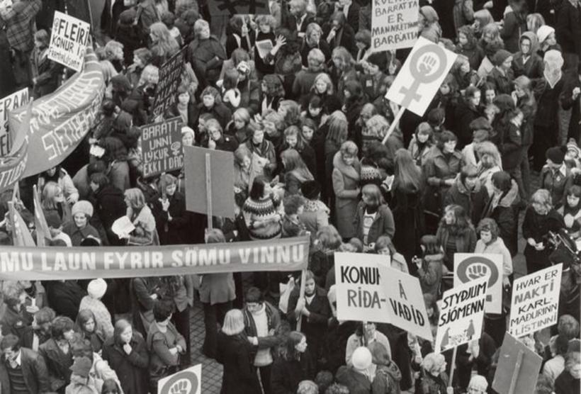 Scenes from Reykjavik in 1975.