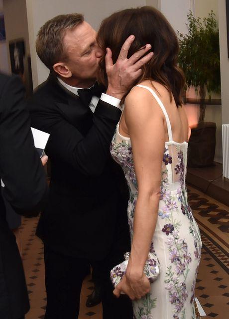 Hjónin Daniel Craig og Rachel Weisz fyrir frumsýningu á James …