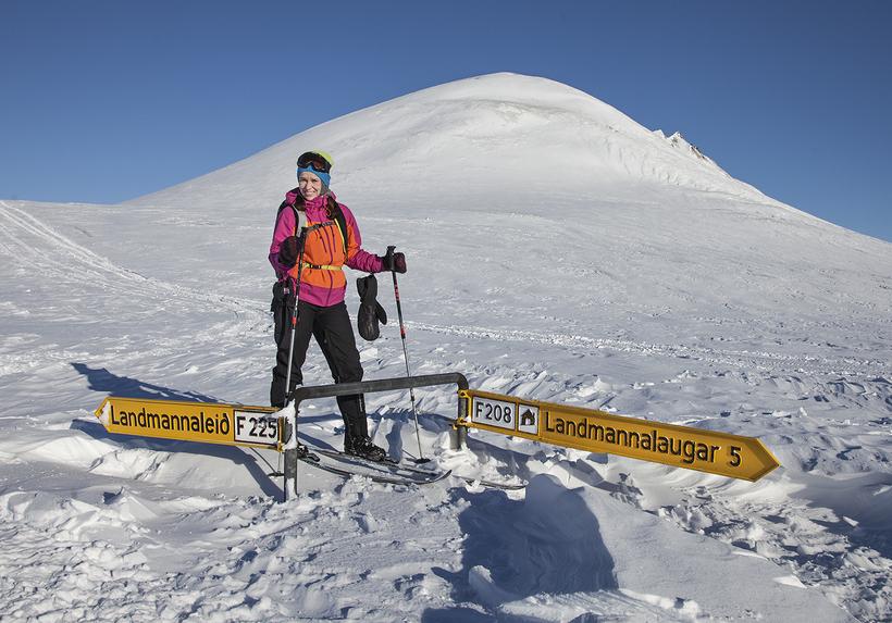 Satu Rämö og Björgvin Hilmarsson fara oft í ferðir utan ...