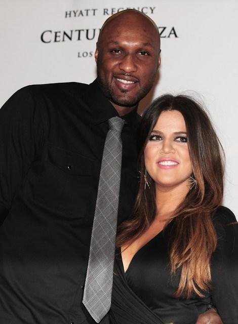 Lamar Odom og Khloe Kardashian voru gift.