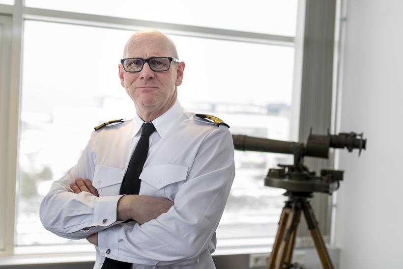 Head of the Icelandic Coast Guard, Georg Kr. Lárusson.