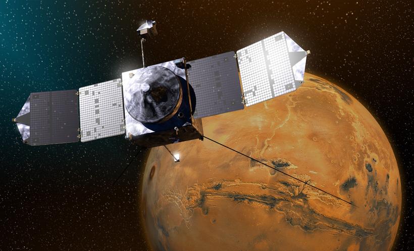 Brautfarfarið MAVEN hefur rannsakað hvarf vatns og lofthjúps á Mars.