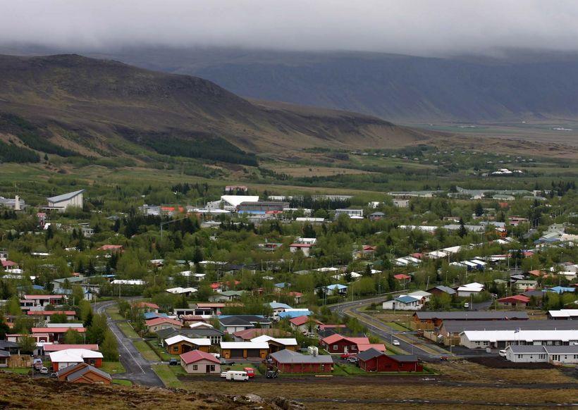 The town of Hveragerði.