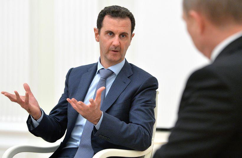 Bashar al-Assad forseti Sýrlands.