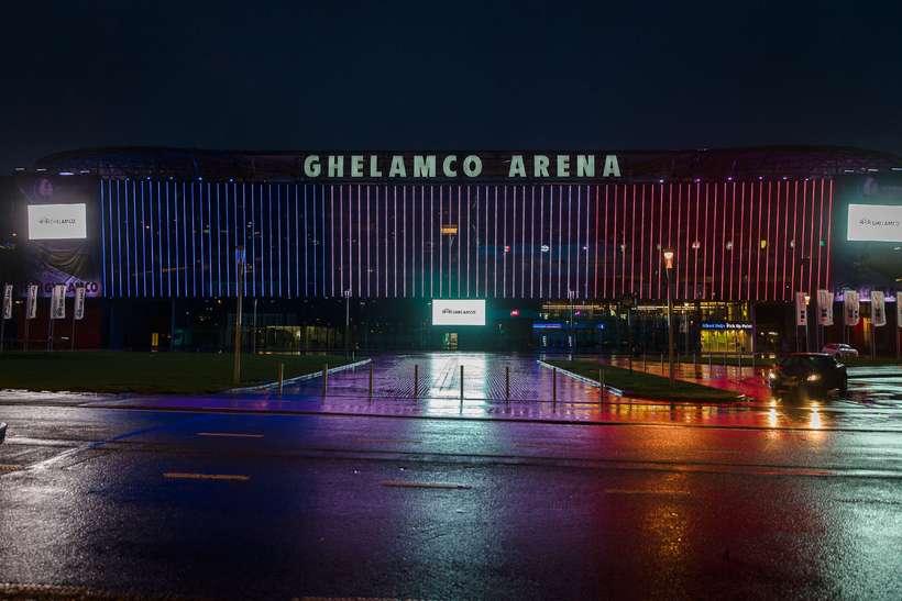 Ghelamco Arena í Gentí Belgíu.