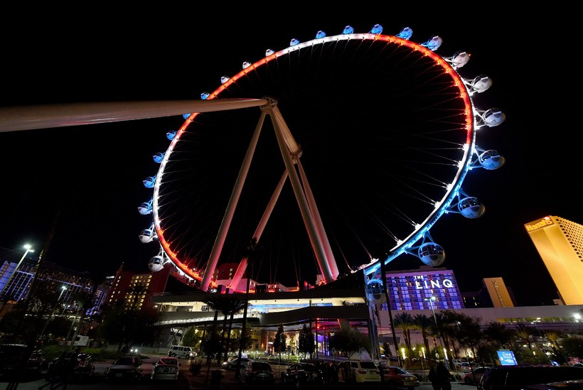 The High Roller Í Las Vegas.
