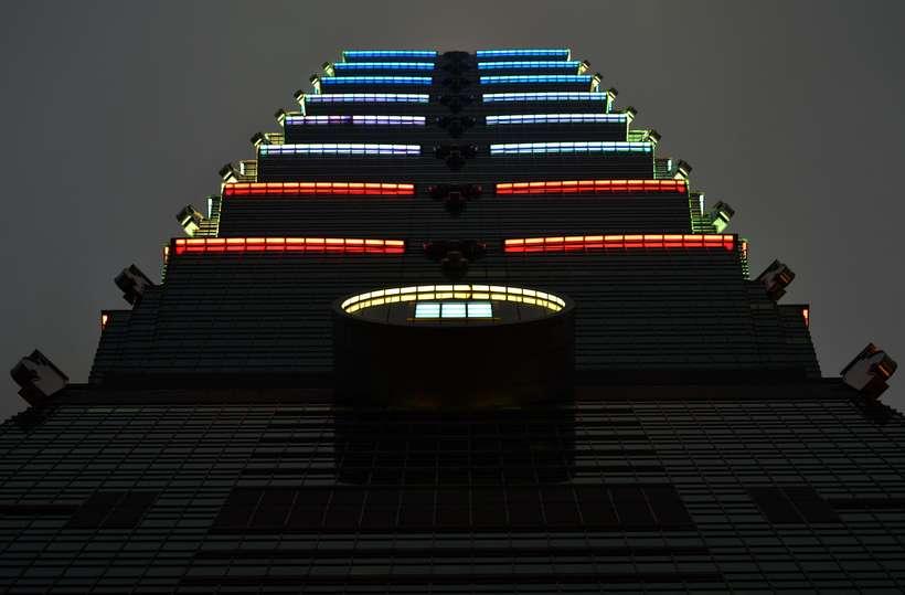 Taipei 101 byggingin í Taipei.