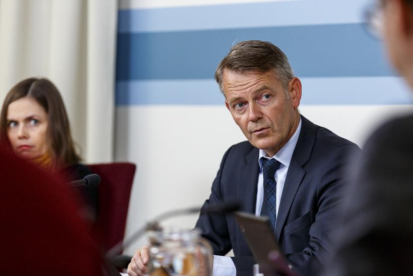 Frosti Sigurjónsson, þingmaður Framsóknarflokksins.