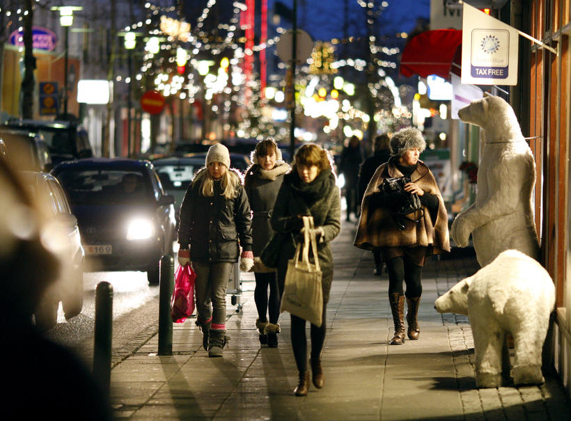 Iceland's population is currently 329,100.