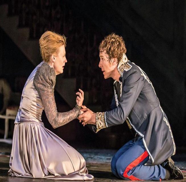 Benedict Cumberbatch stars in Hamlet.