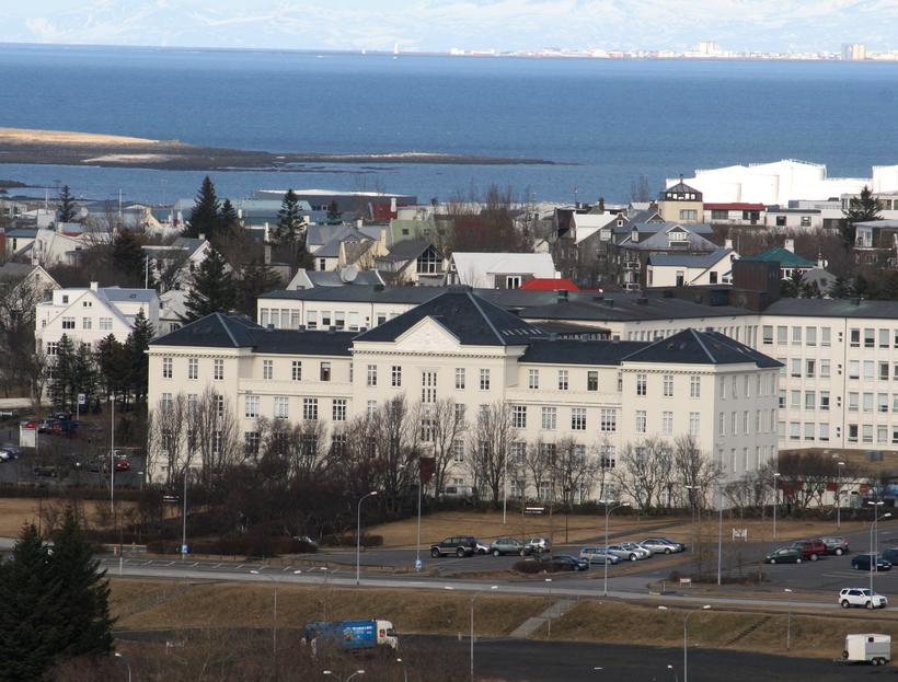 Landspítalinn við Hringbraut.