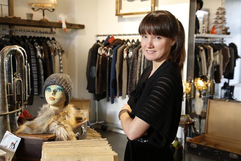 Berþóra Guðnadóttir just won the award for best fashion designer …