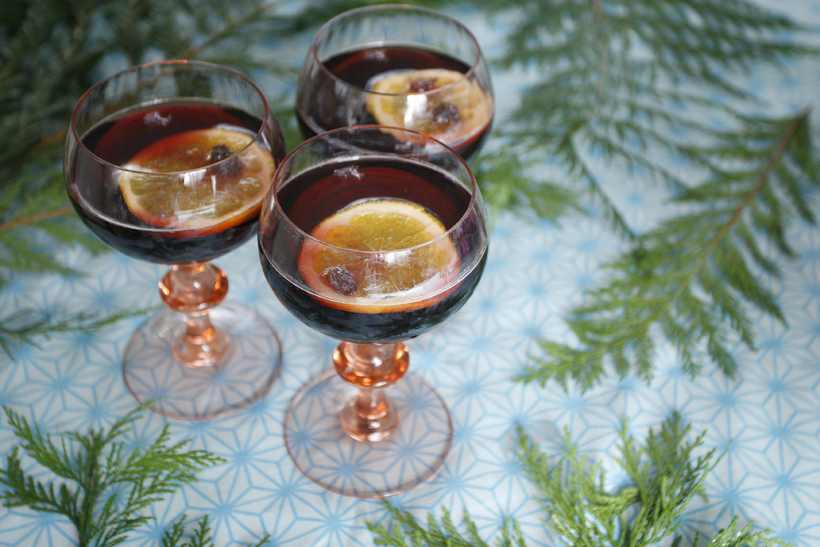 "Head downtown for some warming ""glögg"" - mulled wine."