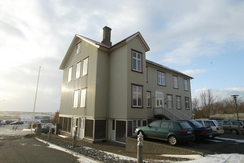 Kennarahúsið við Laufásveg í Reykjavík þar sem Kennarasamband Íslands er ...