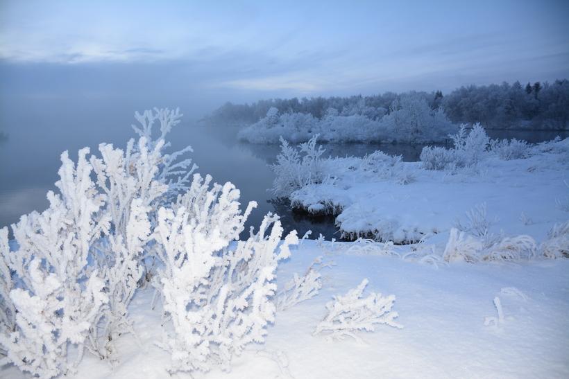 Mesta frost ársins mældist -25,6 stig 21. janúar bæði í …