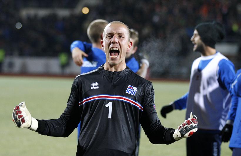 Hannes Þór Halldórsson.