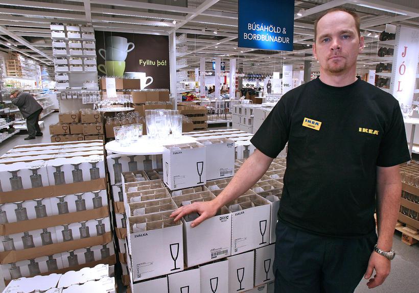 Þórarinn Ævarsson, managing director of IKEA believes the refugees will …