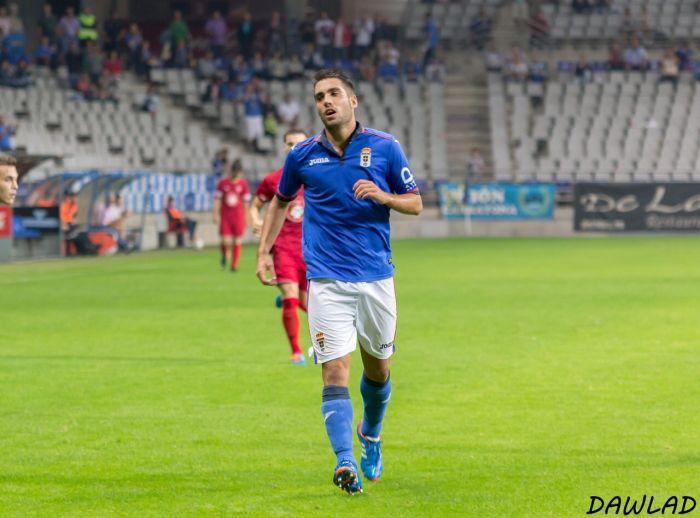 Diego Johannesson, leikmaður Real Oviedo.