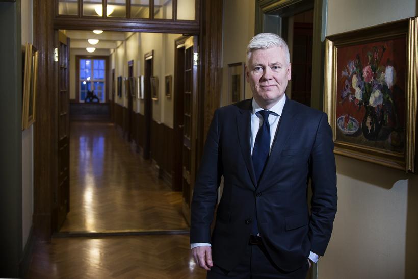 Steinþór Pálsson bankastjóri Landsbankans.