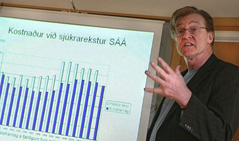 Þórarinn Tyrfingsson.