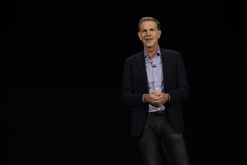 Reed Hastings, framkvæmdastjóri Netflix, segir stefnt að því að efnisframboðið ...