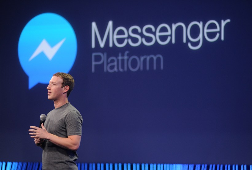 Facebook Messenger forritið vex á ógnarhraða.