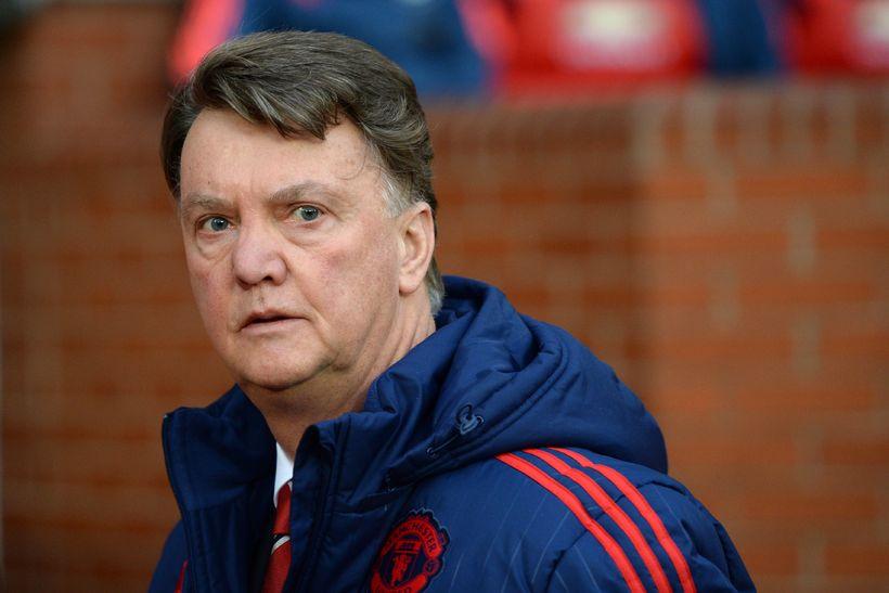 Louis van Gaal, knattspyrnustjóri Manchester United, er lítið að velta ...