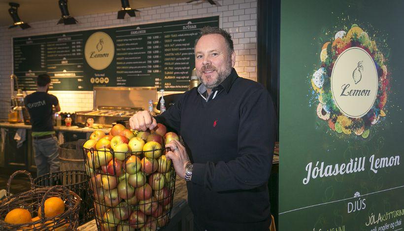 Co-owner of Lemon, Jón Arnar Guðbrandsson.