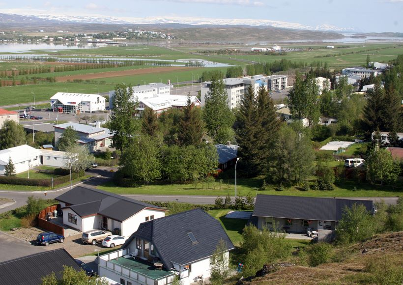 Egilsstaðir eru stærsti þéttbýliskjarninn á Fljótsdalshéraði. Mynd úr safni.