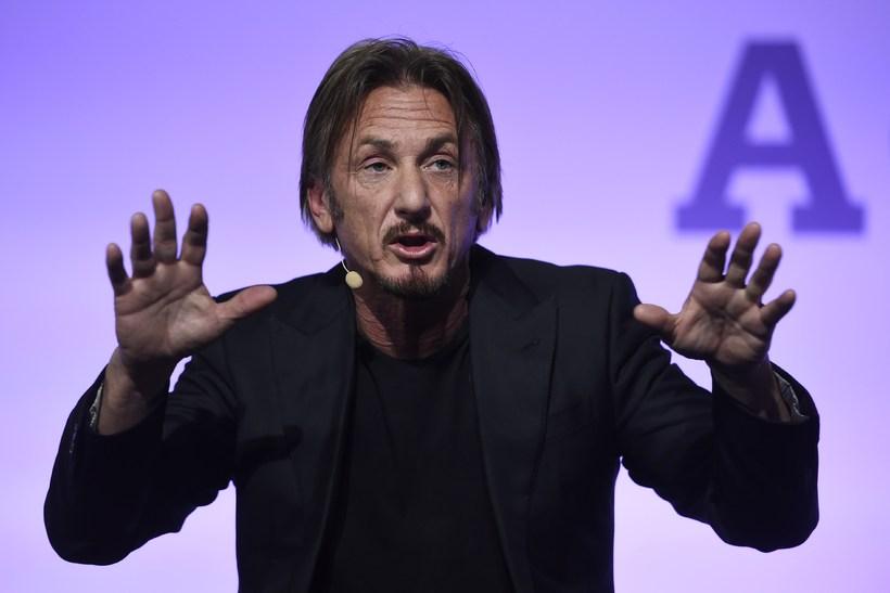Hollywood leikarinn Sean Penn.