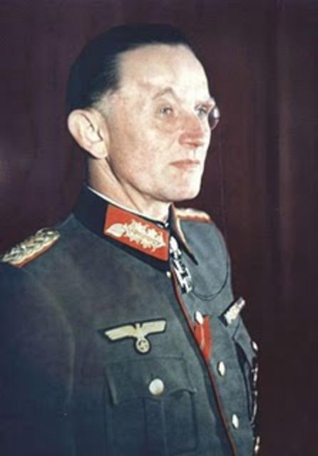 Þýski hershöfðinginn Dietrich von Saucken.